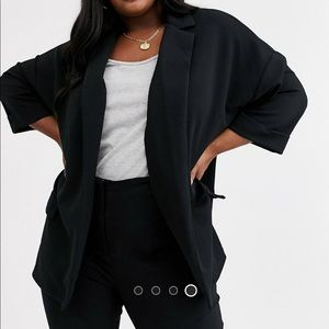 ASOS Curve Relaxed Jersey Blazer 24